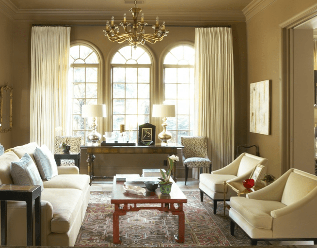 Red Coffee Table Transitional Living Room Jan Showers