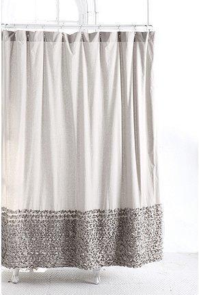 Gt Bloomer Ruffle Shower Curtain