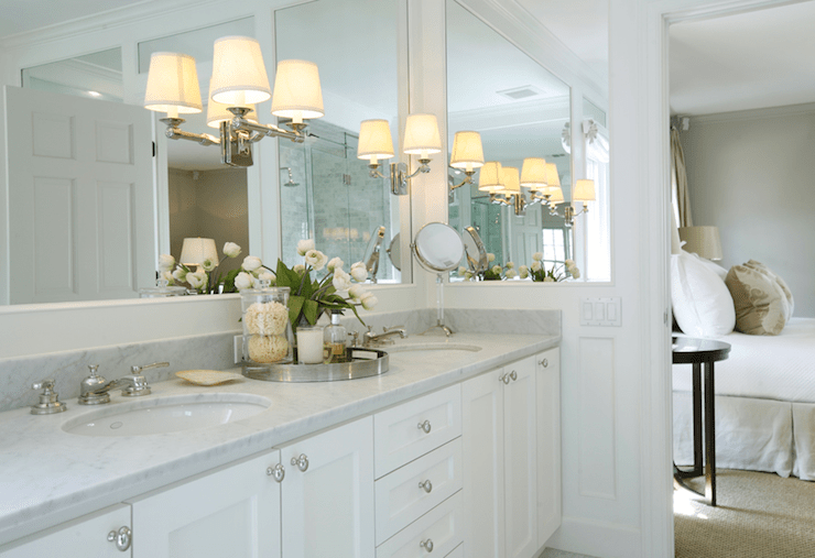 Built In Vanity Mirror Design Ideas