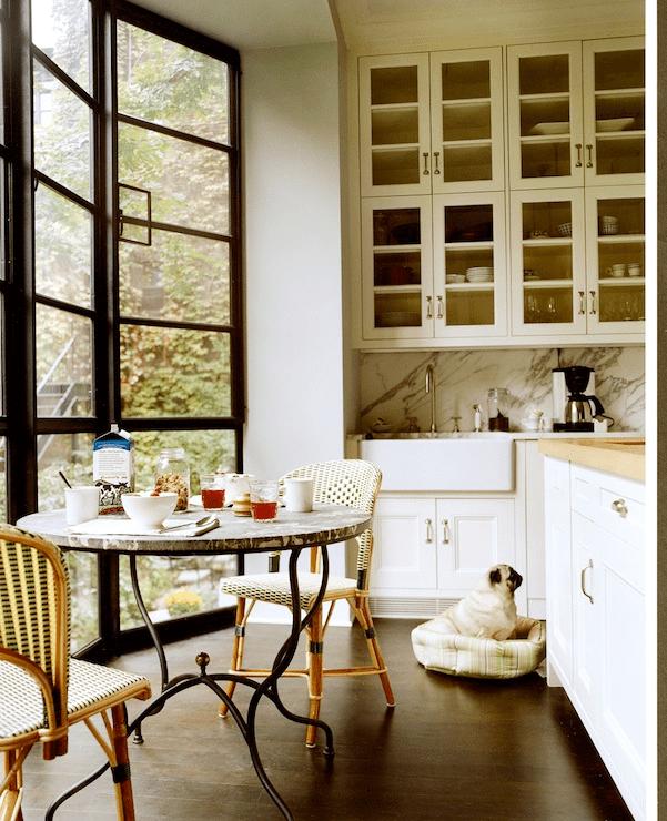 Steel And Glass Windows Contemporary Kitchen Nate Berkus Design