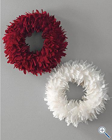 Feather Wreath Garnet Hill