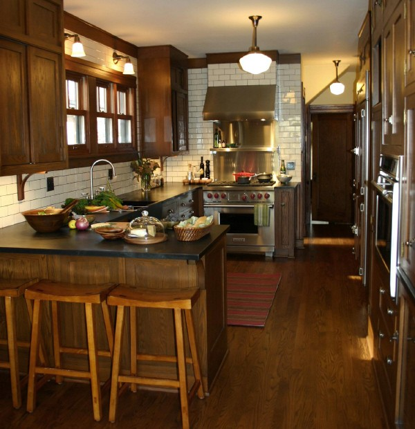 Oak KItchen Cabinets Transitional Kitchen KItchen Lab