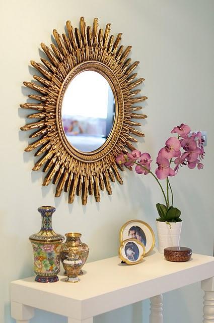 Gold Sunburst Mirror Design Ideas