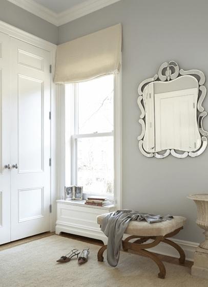 Stonington Gray Traditional Closet Benjamin Moore