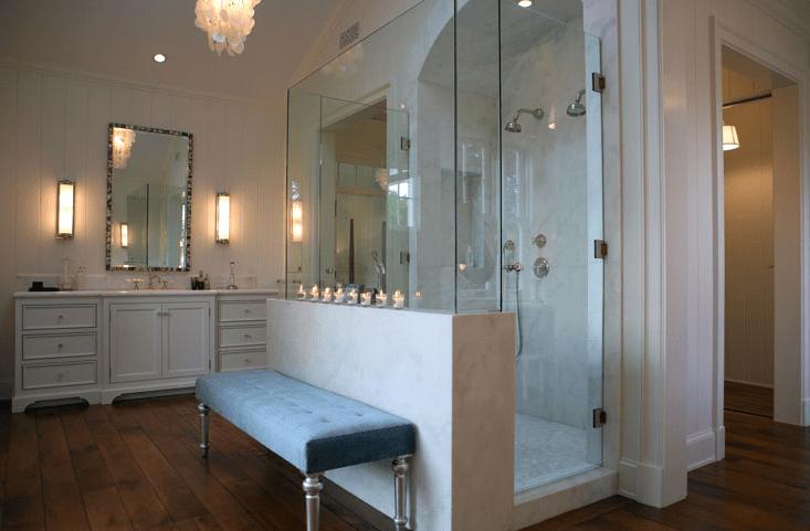 Master Bathroom Shower Ideas Transitional Bathroom