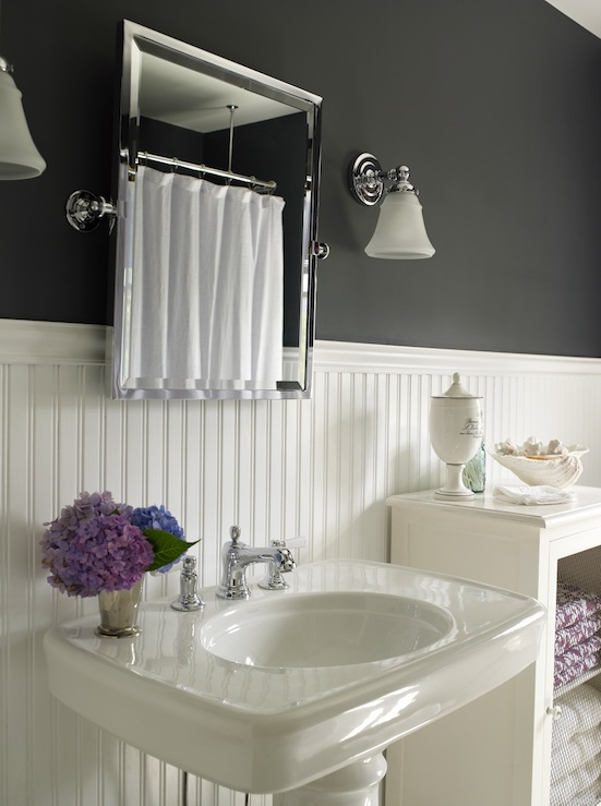 Bathroom remodel with beadboard. bathroom remodel. bathrooms031 ...