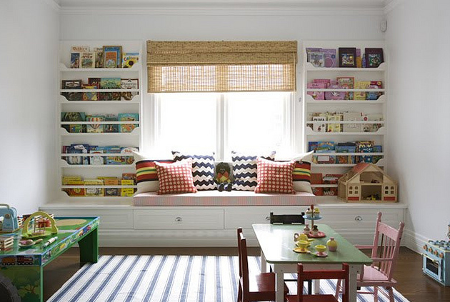 Kids Built In Bookshelves