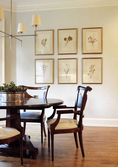Bryant Chandelier Transitional Dining Room Ashley