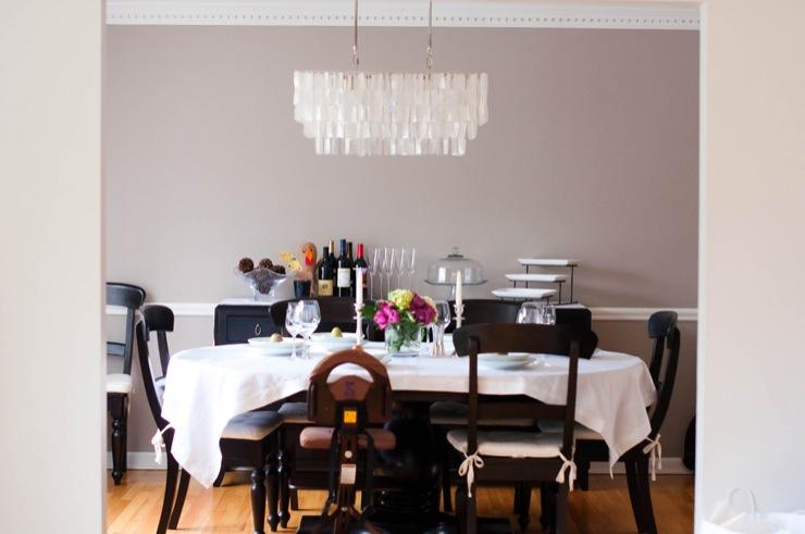 Dining Room Benjamin Moore Silver Fox