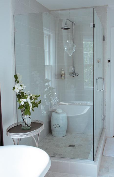 Frameless Glass Shower Design Ideas