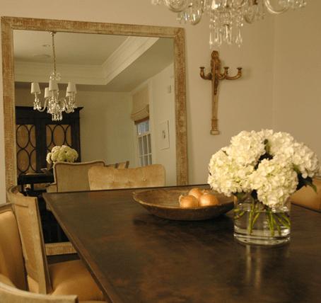 Dining Room Floor Mirror Design Ideas
