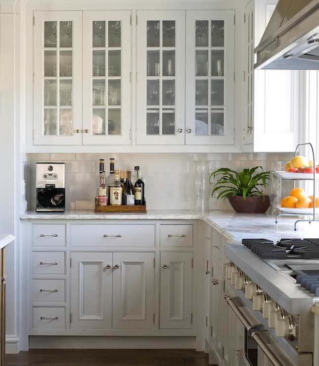 Nice Wire Brushed Oak Cabinets Design Ideas