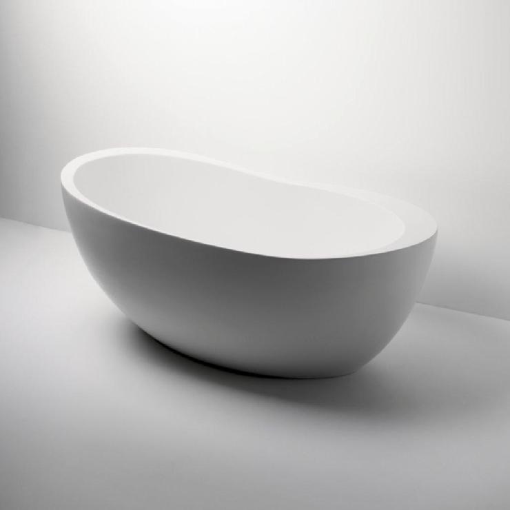 Freestanding Oval Bathtub 70