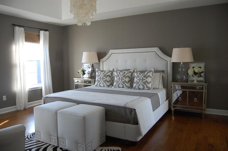 Gray Bedroom Contemporary Bedroom Benjamin Moore