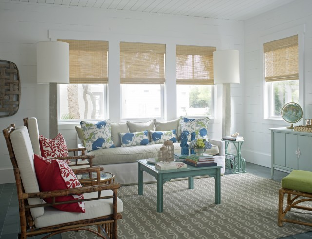 Turquoise Coffee Table Cottage Living Room Rethink