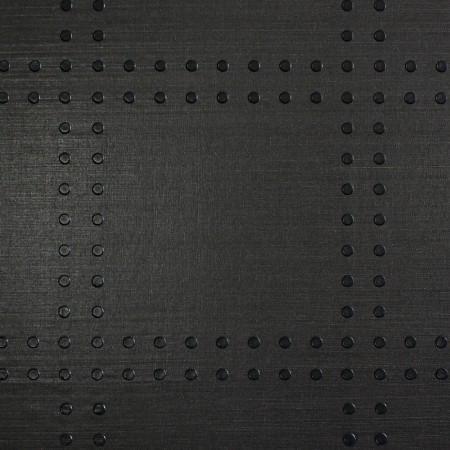 Rivets Black On Black Phillip Jeffries Wallpaper