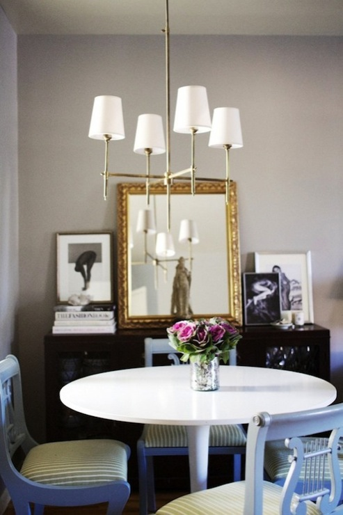 Thomas OBrien Bryant Chandelier Transitional Dining Room Ralph Lauren Forde Abbey The