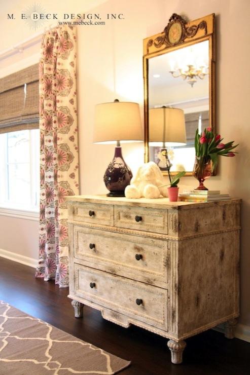 Purple Lamp Transitional Girls Room M E Beck Design