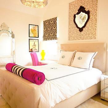 Cream Walls Bedroom