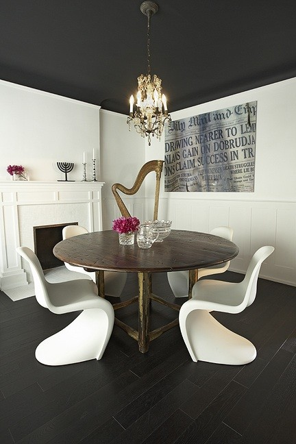Panton Dining Chairs Eclectic Dining Room Palmerston Design