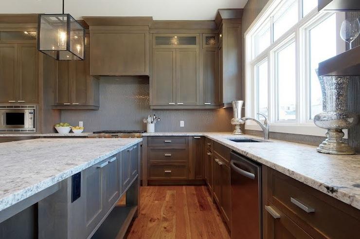 White Kitchen Cabinets Gray Granite Countertops Design Ideas
