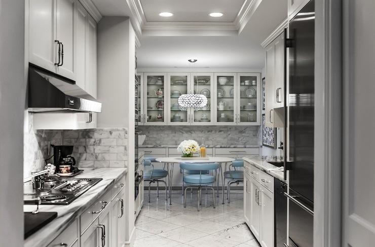 Galley KItchen Design Eclectic Kitchen Janet Rice Interiors