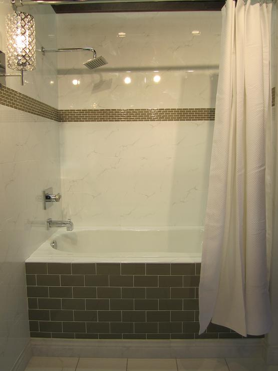White Ceramic Subway Tile Design Ideas