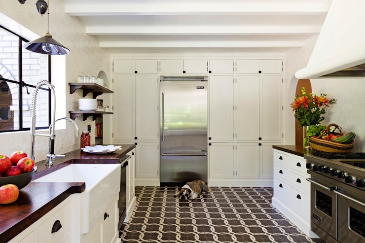 Floor To Ceiling Kitchen Cabinets Vintage Kitchen Jessica Helgerson Interior Design