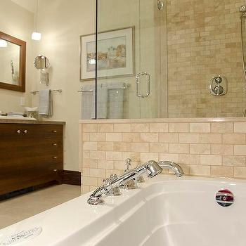 travertine tile bathroom design ideas