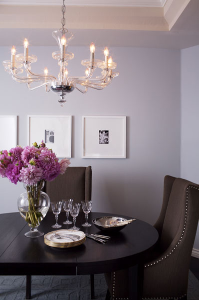 Brown And Lilac Design Ideas