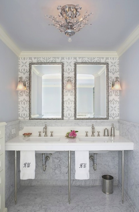Glam Bathroom Design Ideas