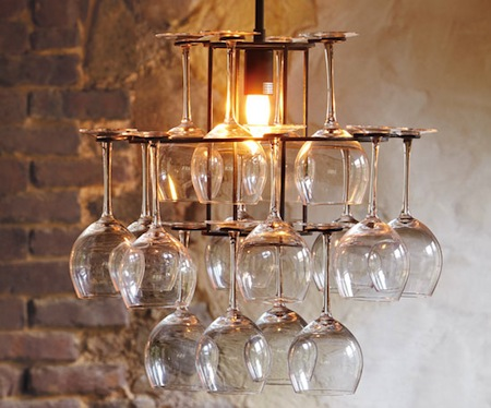 Napa Style Wineglass Chandelier View Full Size