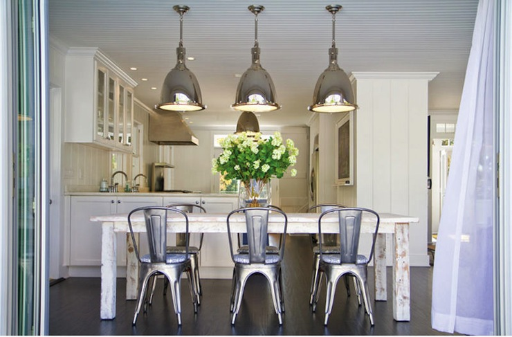 White Washed Dining Table