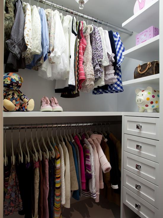 Little Girls Closet Traditional Closet LA Closet Design