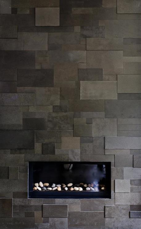 Modern Fireplace Shelves Design Ideas