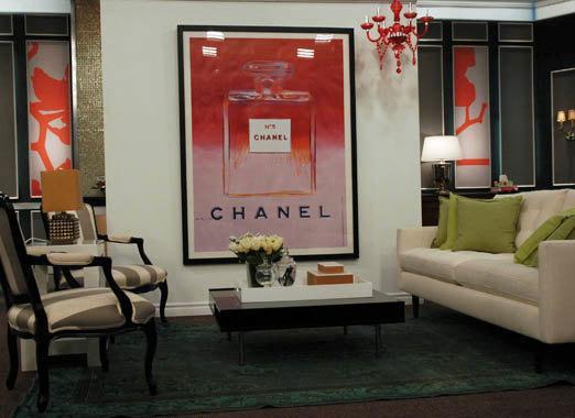 Andy Warhol Chanel Framed By 13WestDesign Etsy