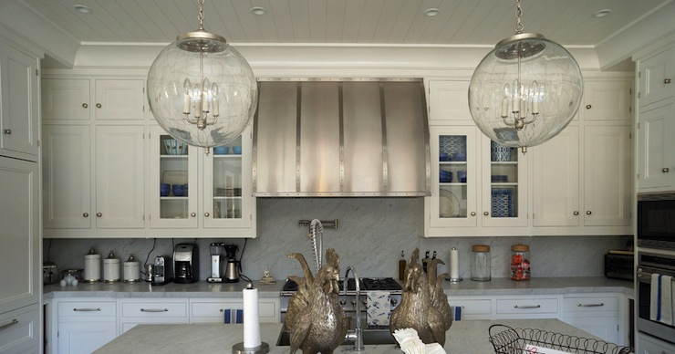 Barrel Kitchen Hood Transitional Kitchen Bakes And
