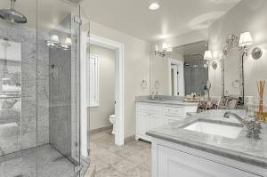 Best Wall Color For Carrara Marble Bathroom