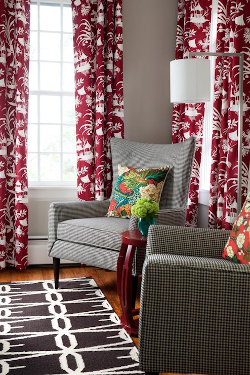 Robert Allen Crystal Lake Lacquer Fabric Eclectic