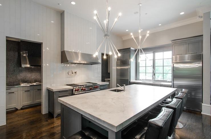 Gray Kitchen Modern Kitchen Pricey Pads