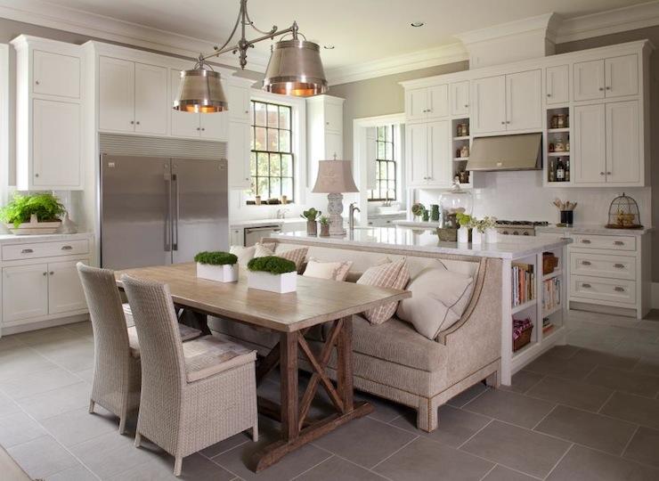 Gourmet Kitchen Transitional Kitchen Michael J Siller Interiors