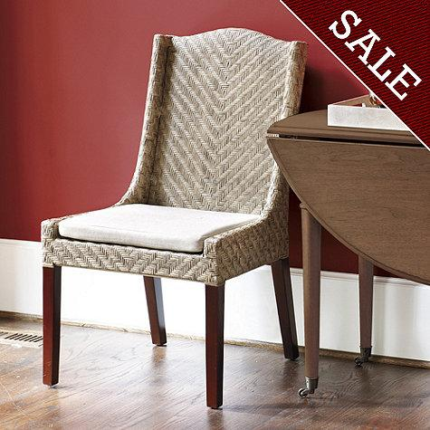 Montecito Woven Arm Chair Set Of 2 Dining Room