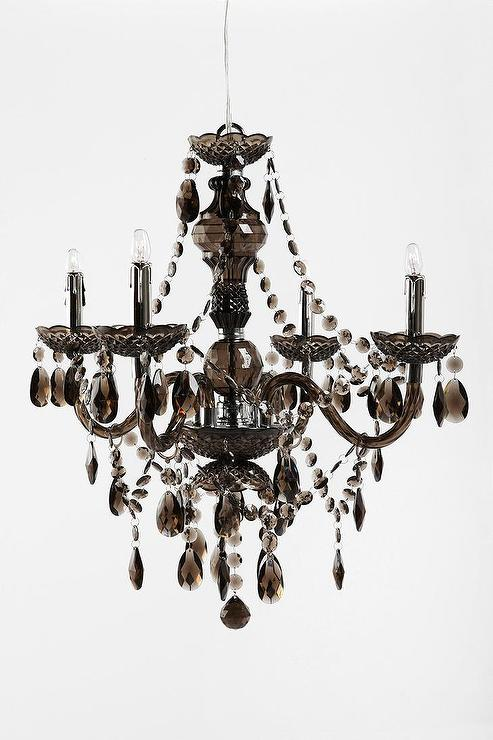 Ss Black Jewels Chandelier