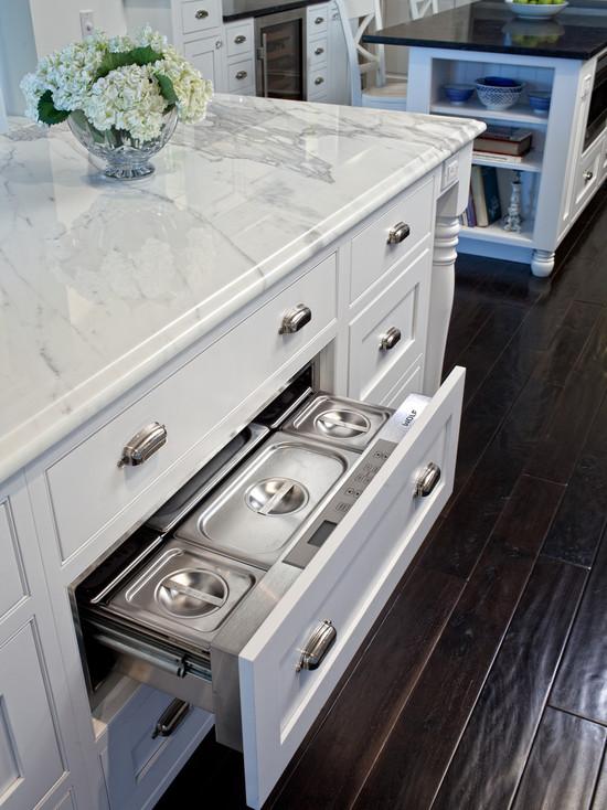 island warming drawer design ideas