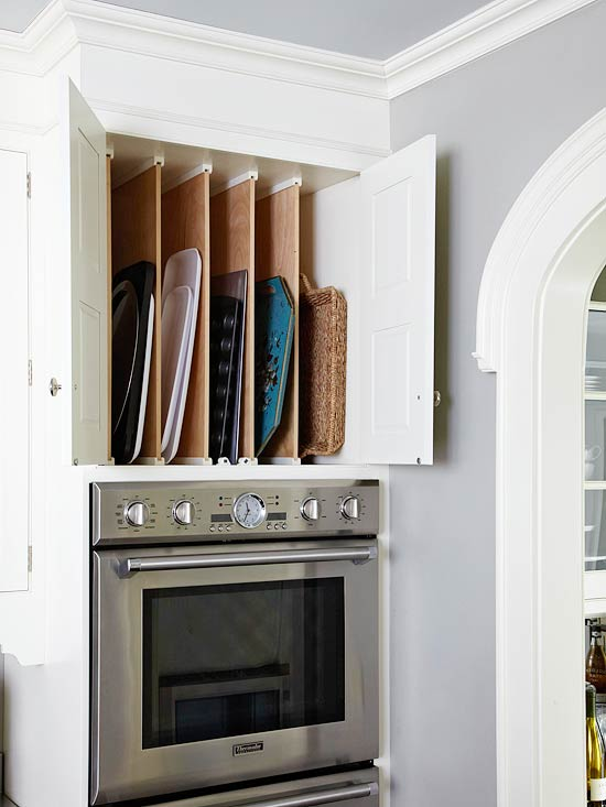 Double Stacked Cabinets Design Ideas