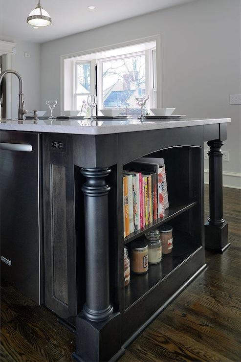 Stained Kitchen Island Design Ideas