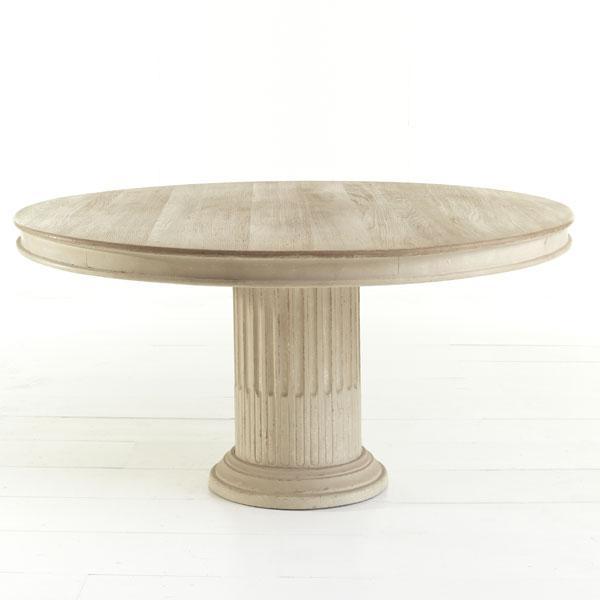 Column Pedestal Dining Table Wisteria