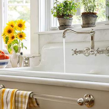 vintage glass towel bar restoration