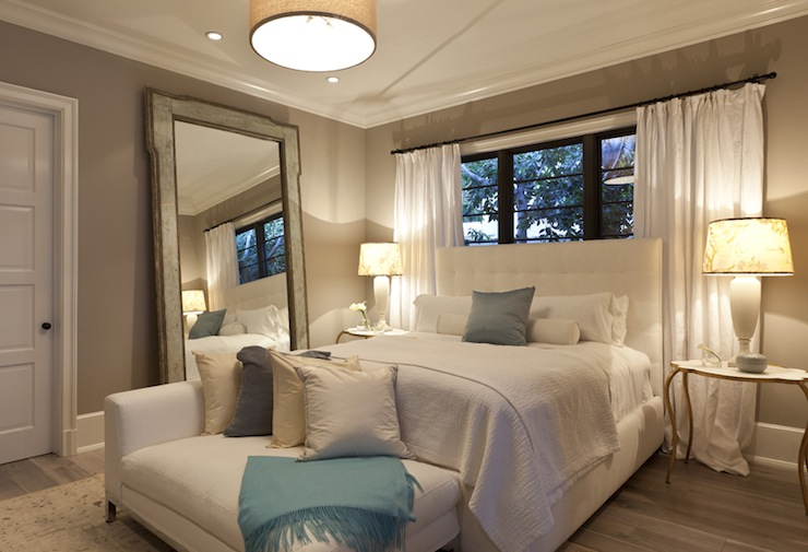 Master Window Bedroom Treatments Contemporary