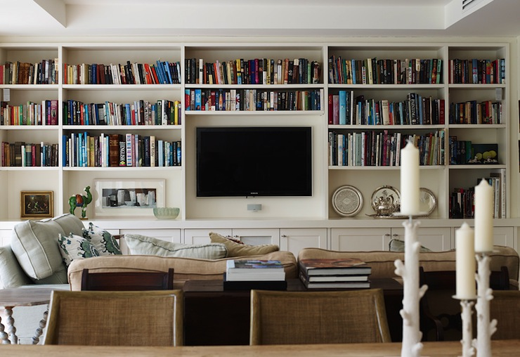 Living Room Built In Cabinets Design Ideas